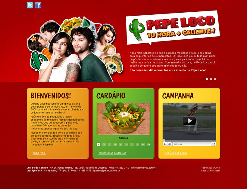"Website ""Pepe Loco"" -1"