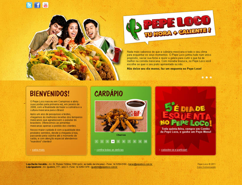 "Website ""Pepe Loco"" 0"