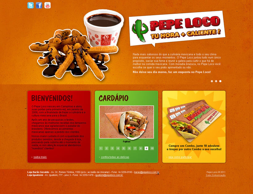 "Website ""Pepe Loco"" 1"