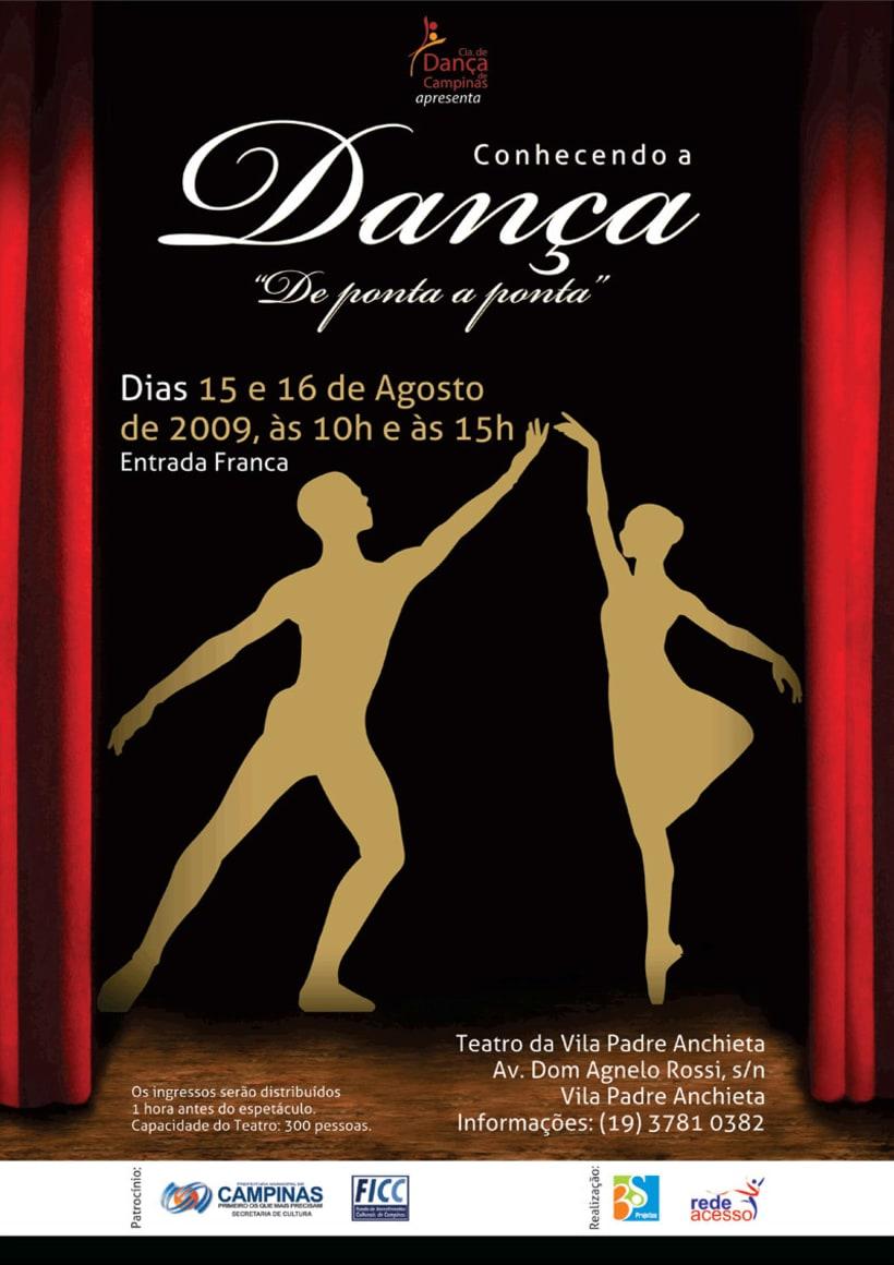 """Poster """"Conhecendo a Dança"""" -1"""