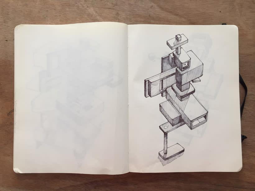 Moleskine SketchBook 2017 3