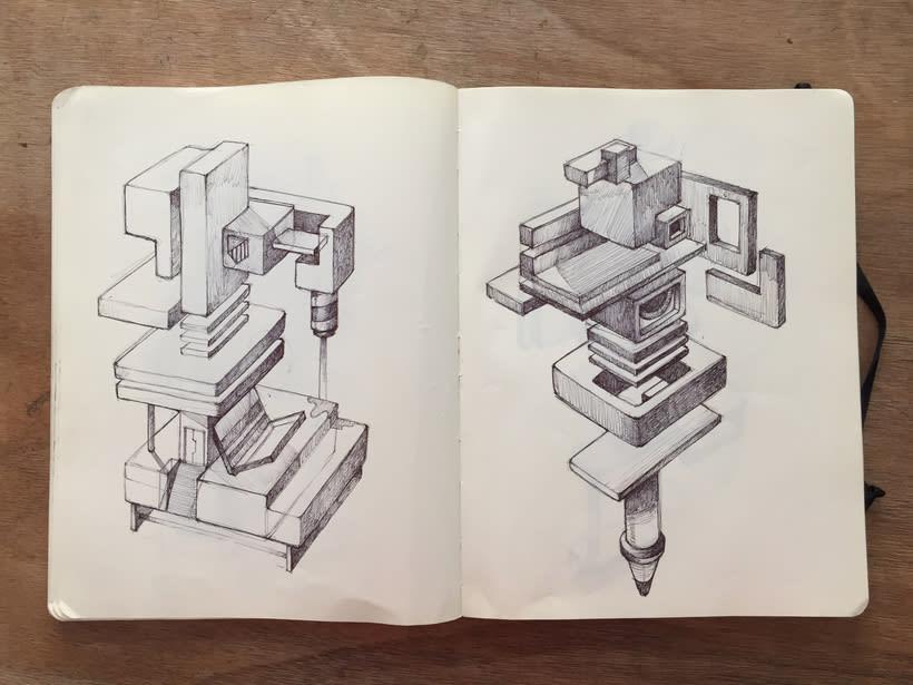 Moleskine SketchBook 2017 4