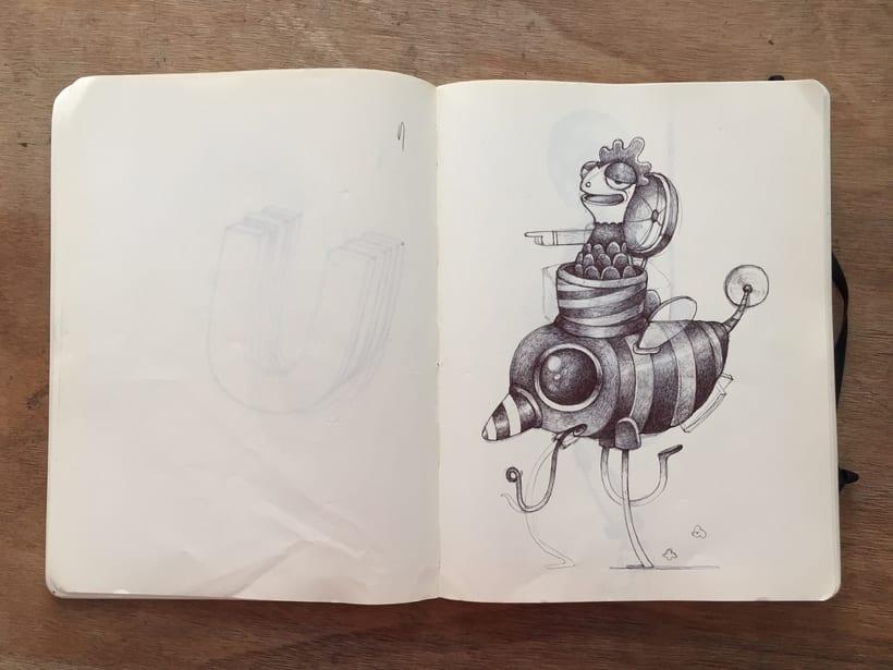 Moleskine SketchBook 2017 6