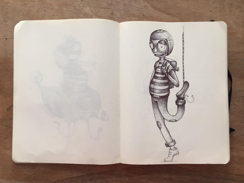 Moleskine SketchBook 2017 7