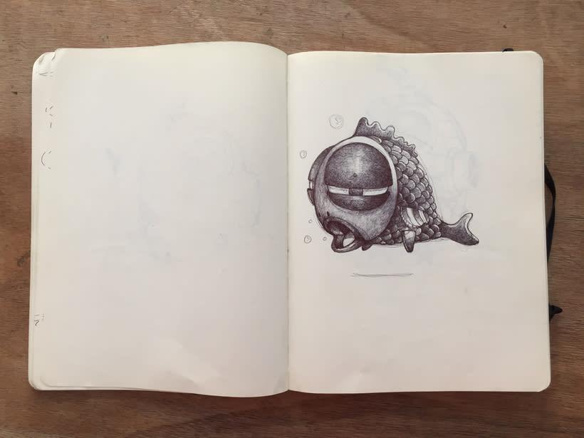 Moleskine SketchBook 2017 8