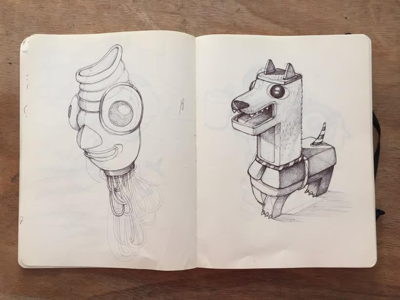 Moleskine SketchBook 2017 9