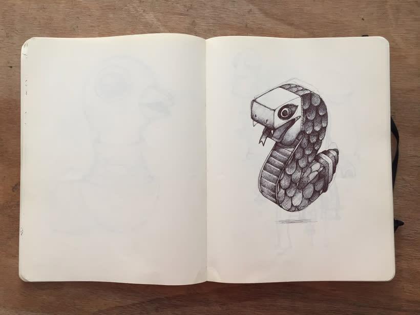 Moleskine SketchBook 2017 10
