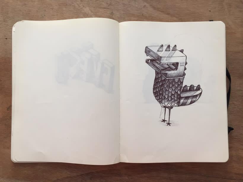 Moleskine SketchBook 2017 11