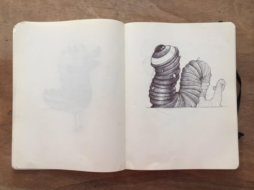 Moleskine SketchBook 2017 12