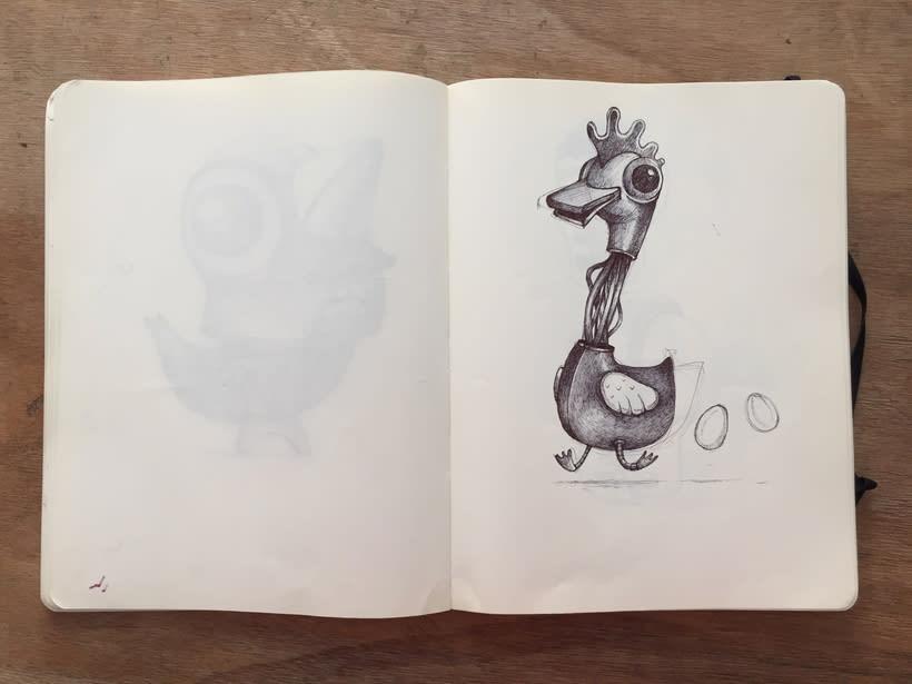Moleskine SketchBook 2017 14