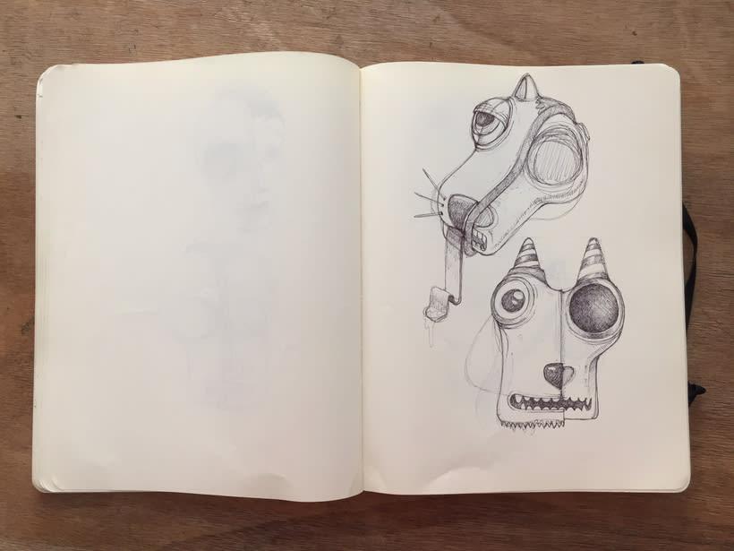 Moleskine SketchBook 2017 15