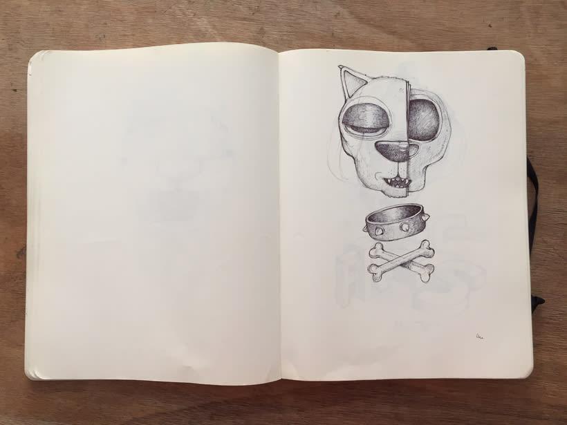 Moleskine SketchBook 2017 16
