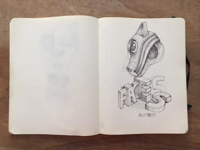 Moleskine SketchBook 2017 17