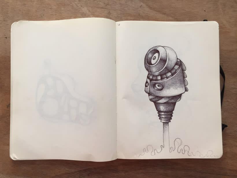 Moleskine SketchBook 2017 18