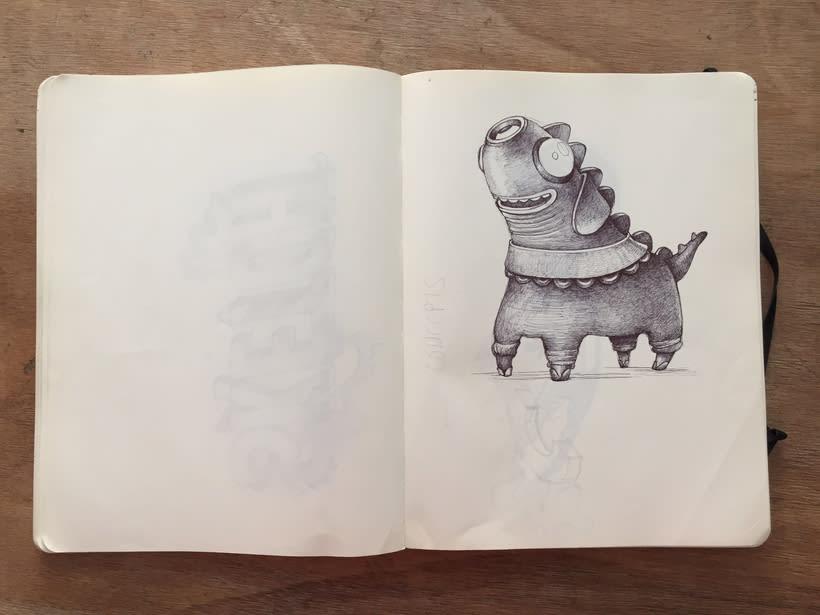 Moleskine SketchBook 2017 19