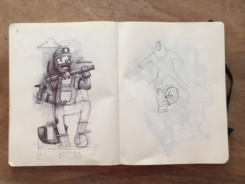 Moleskine SketchBook 2017 20