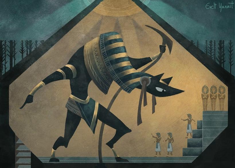 Anubis illustration 0