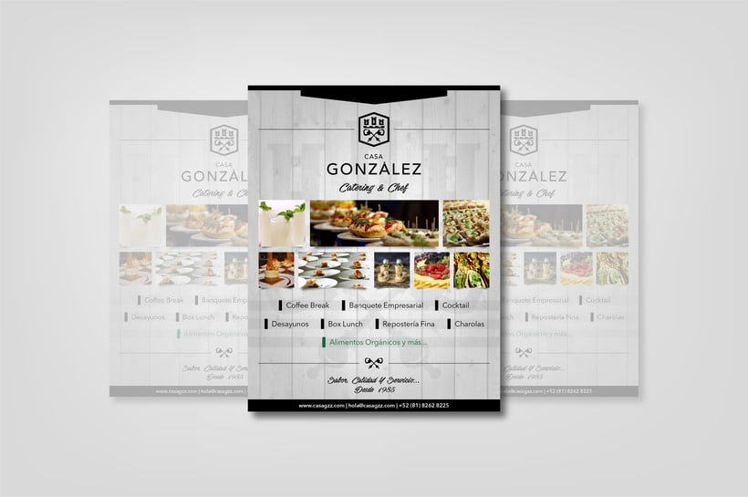 Diseño de Imagen e identidad corporativa de Casa González 6