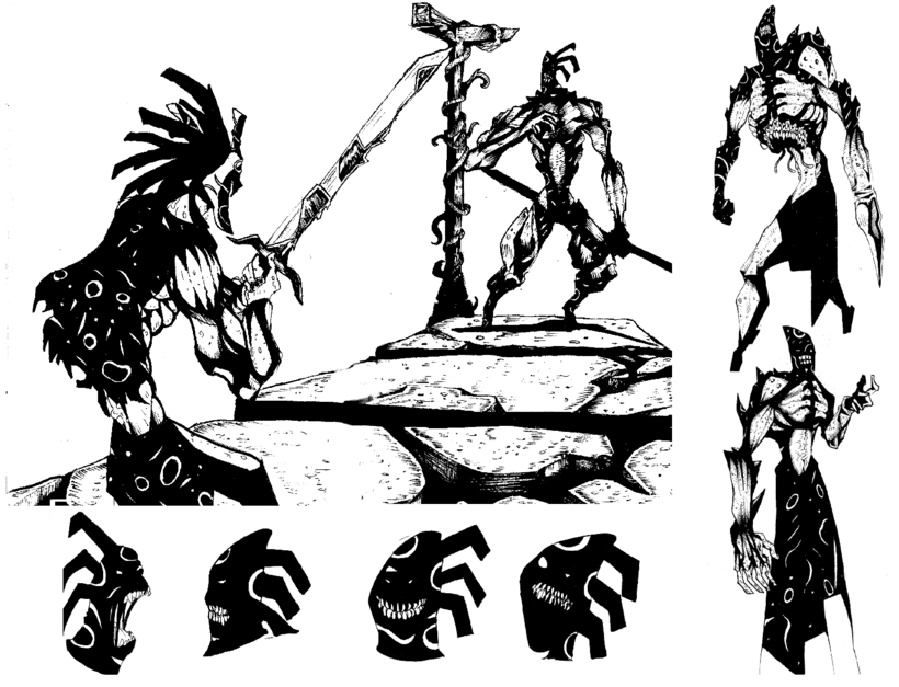 Concept Art - El tío escuálido. 0