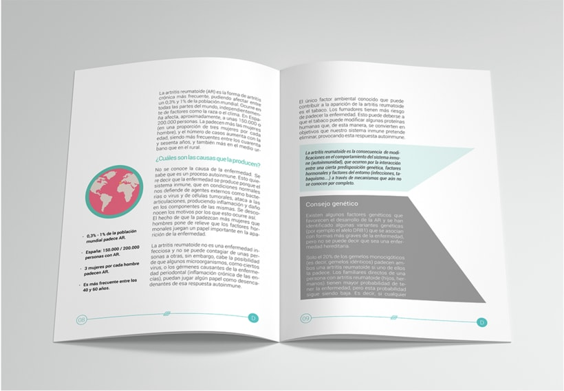 Revista informativa sobre la  Artritis reumatoide 1
