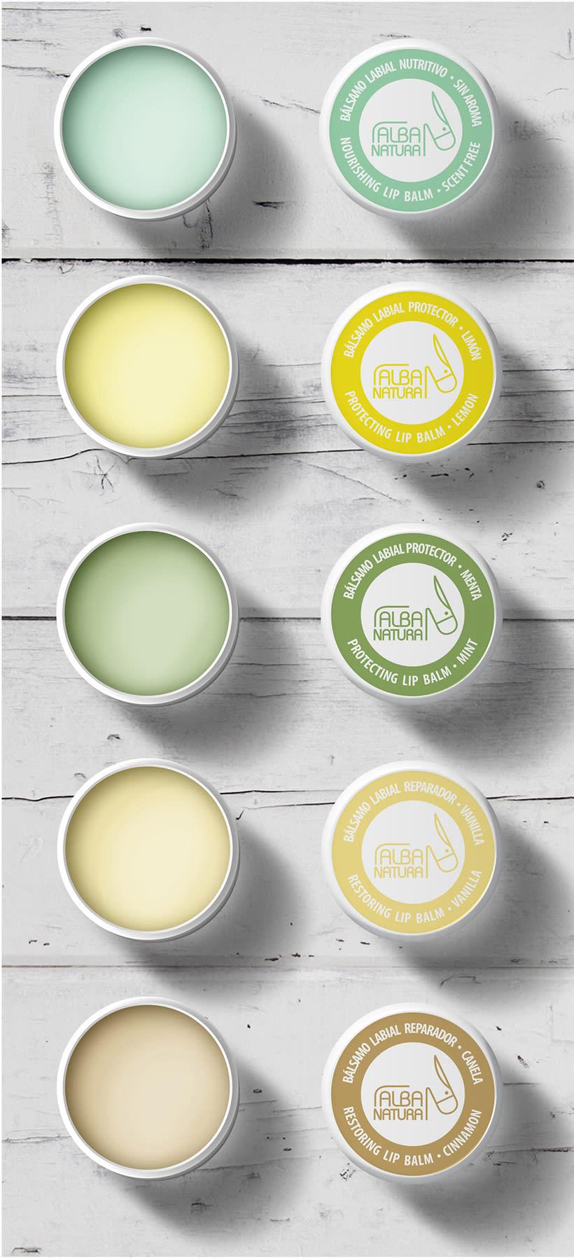Logotipos, branding, diseño de flyers y de packagings que conforman la empresa NEATHEA (Alba Natura y Bioláctea) 2