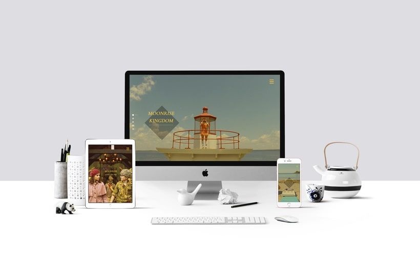 Web responsive -Moonrise Kingdom 3