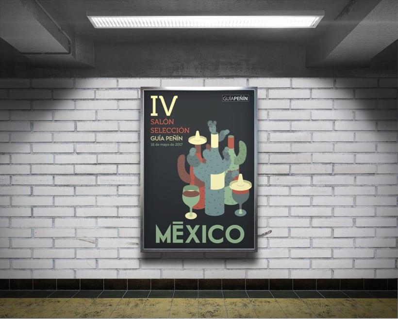 Diseño de la cartelería para una campaña de GUÍA PEÑÍN 1
