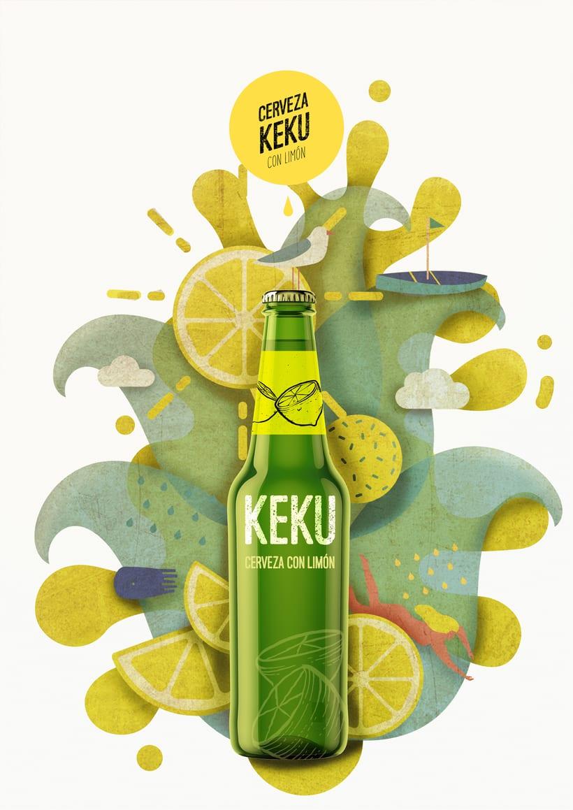 Propuesta publicitaria cerveza KEKU 2