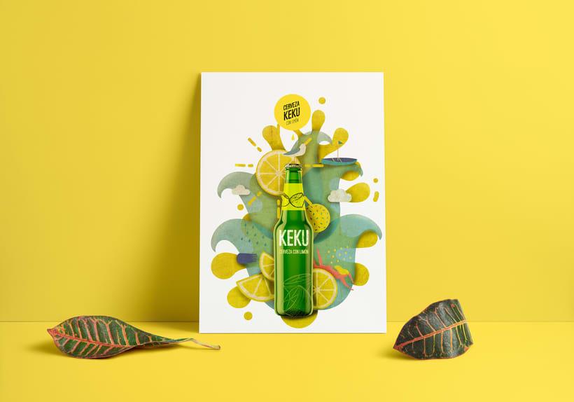 Propuesta publicitaria cerveza KEKU 3