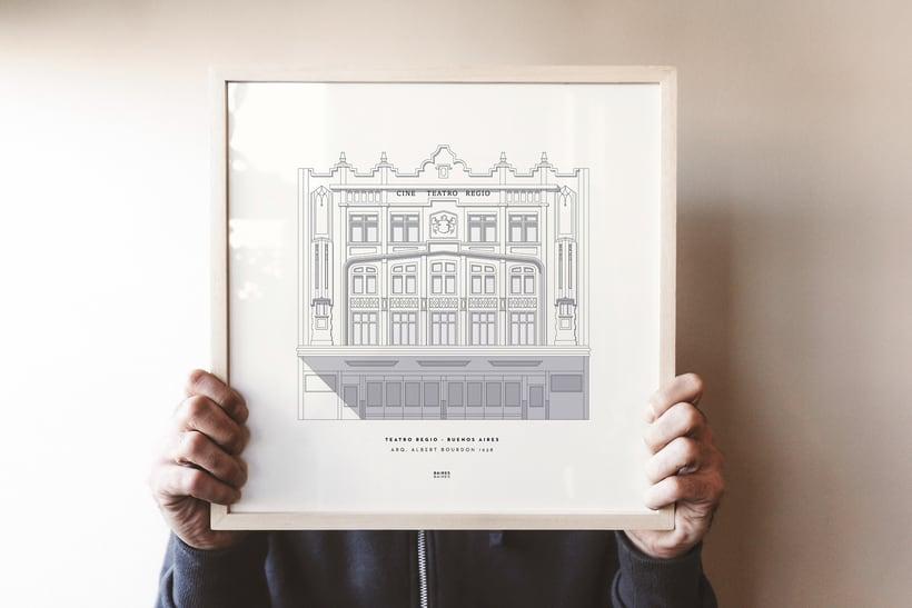Baires Baires: arquitectura porteña ilustrada 1