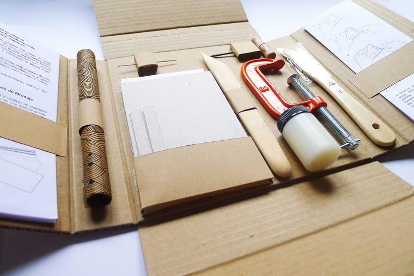 Encuadernación DIY con Fábrica de Texturas 1