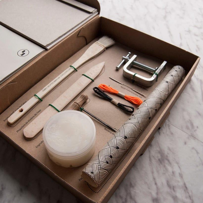 Encuadernación DIY con Fábrica de Texturas 8