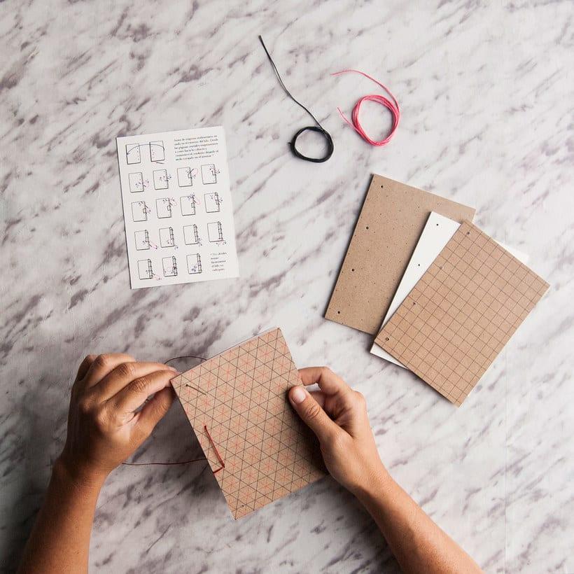 Encuadernación DIY con Fábrica de Texturas 12