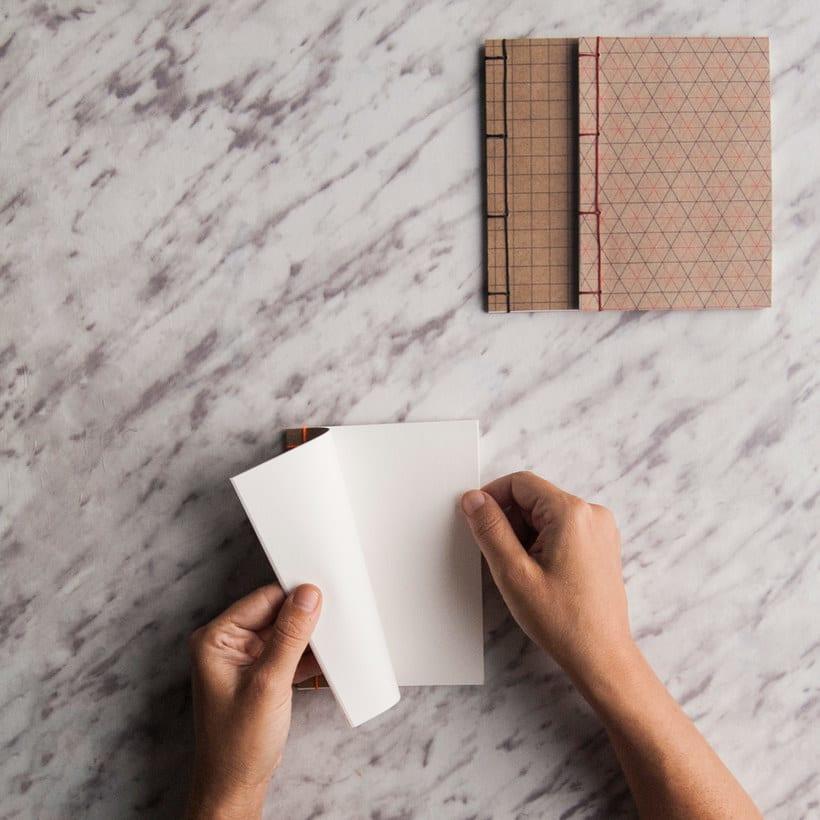 Encuadernación DIY con Fábrica de Texturas 14