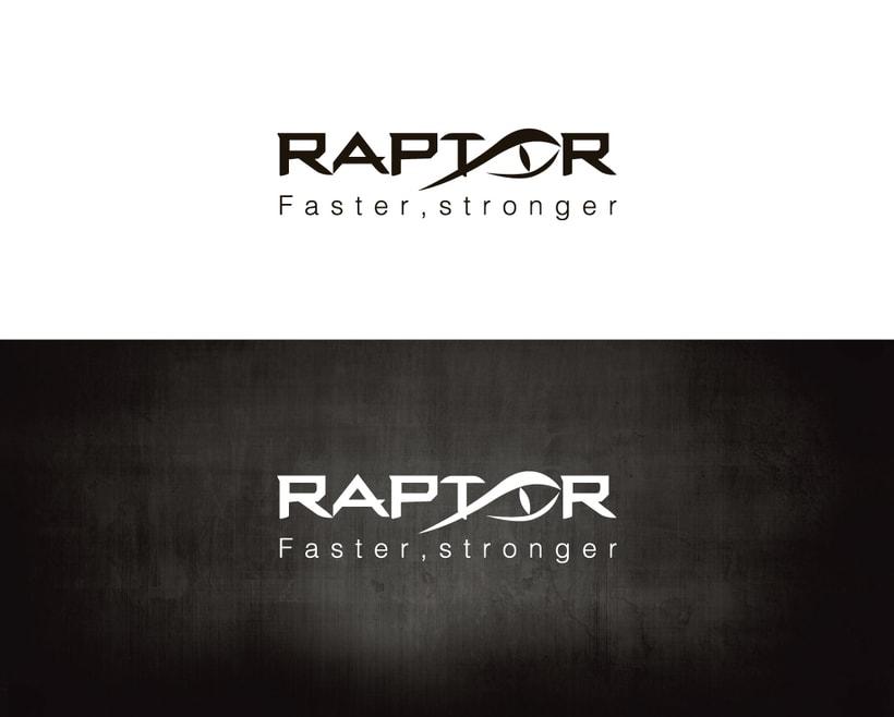 Imagen corporativa RAPTOR (Marca de ropa deportiva) 0