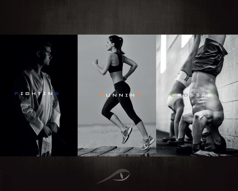 Imagen corporativa RAPTOR (Marca de ropa deportiva) 7