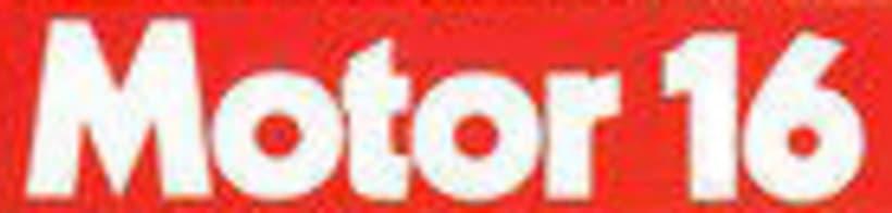 Tipografía revista Motor 16 (años 80) 1