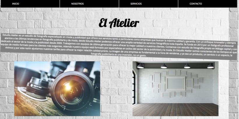 Estudio Atelier - Mi Proyecto del curso: Técnicas de Desarrollo Web con HTML5 y CSS3 0