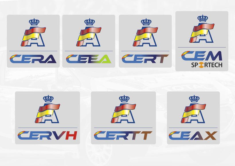RFEDA (real federación española de automovilismo) nuevos logos -1