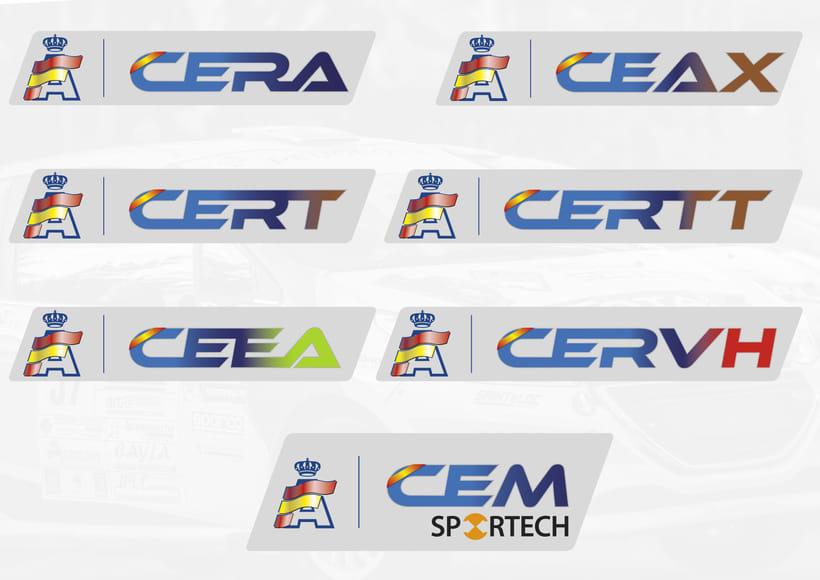 RFEDA (real federación española de automovilismo) nuevos logos 0