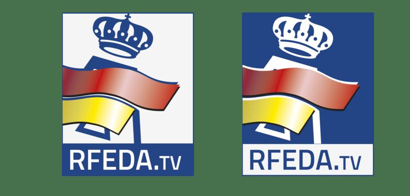 RFEDA (real federación española de automovilismo) nuevos logos 1