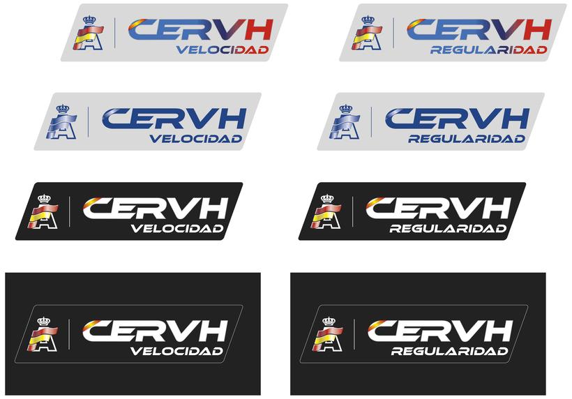RFEDA (real federación española de automovilismo) nuevos logos 2