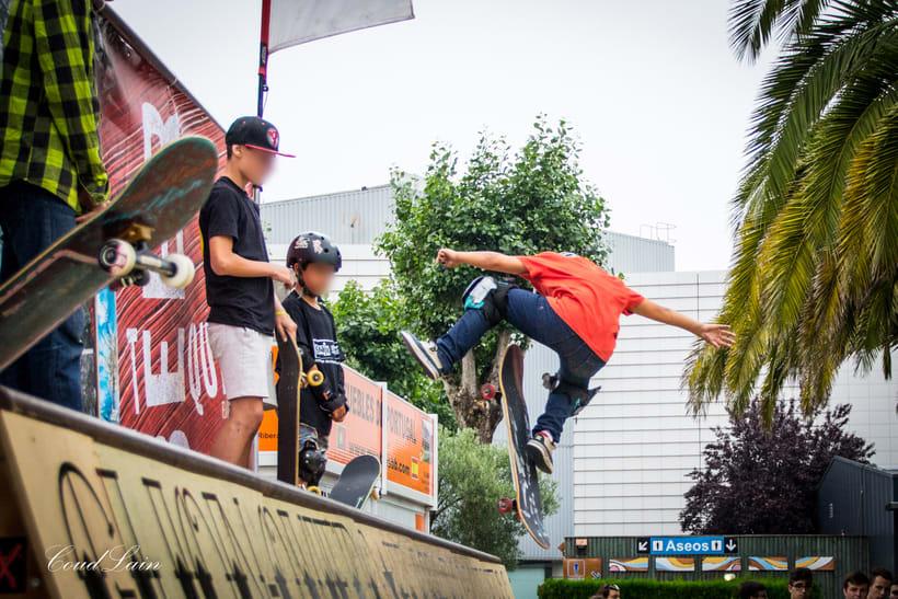 Torneo de Skate sub16 del Metropoli 2017 de Gijon, Asturias 1