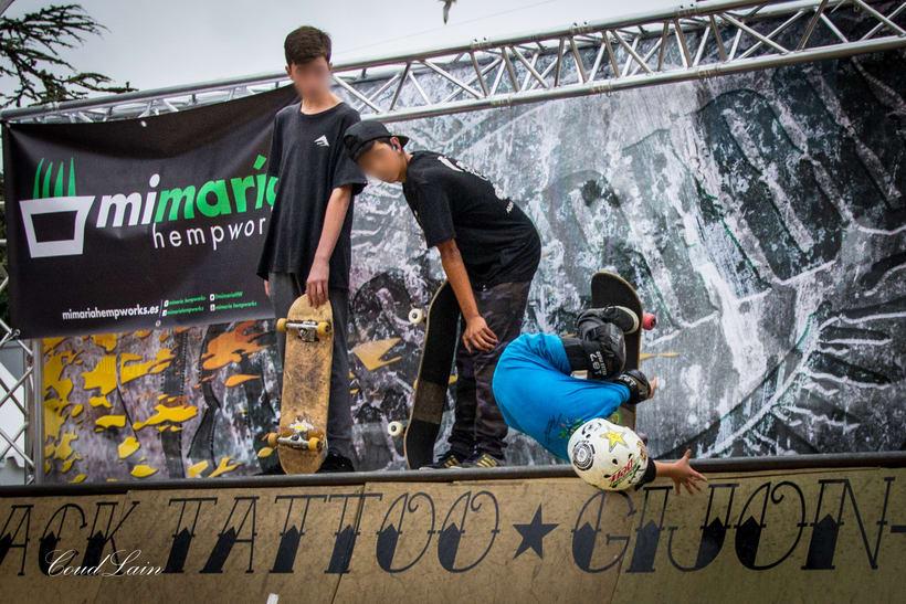 Torneo de Skate sub16 del Metropoli 2017 de Gijon, Asturias 6