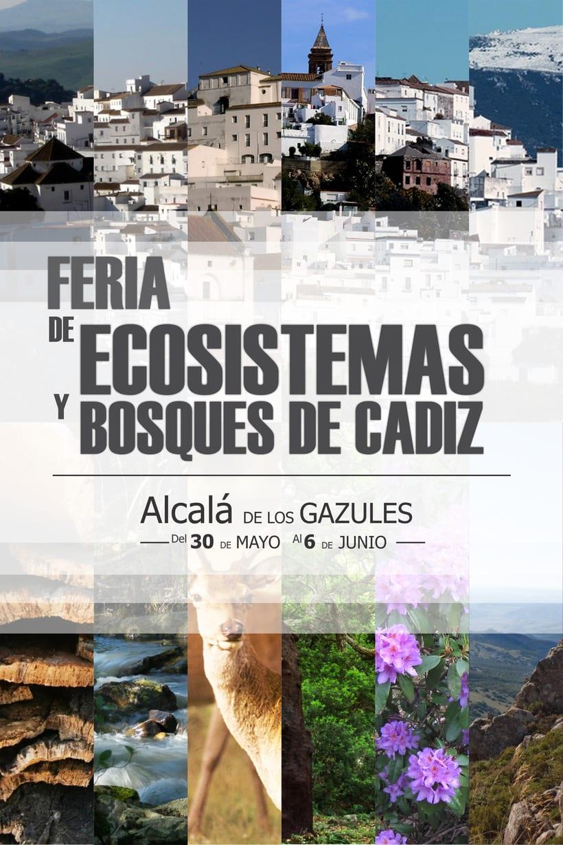 CARTEL FERIA DE ECOSISTEMAS Y BOSQUES DE CADIZ -1
