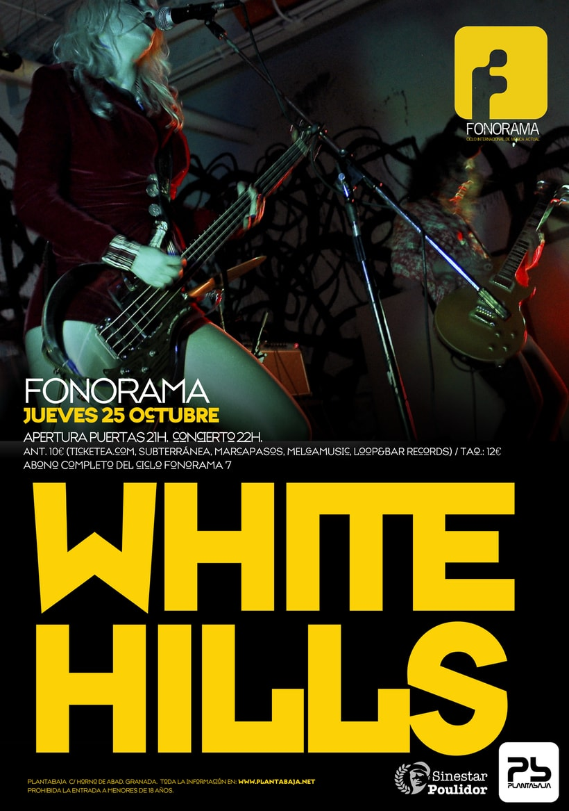 White Hills Poster -1