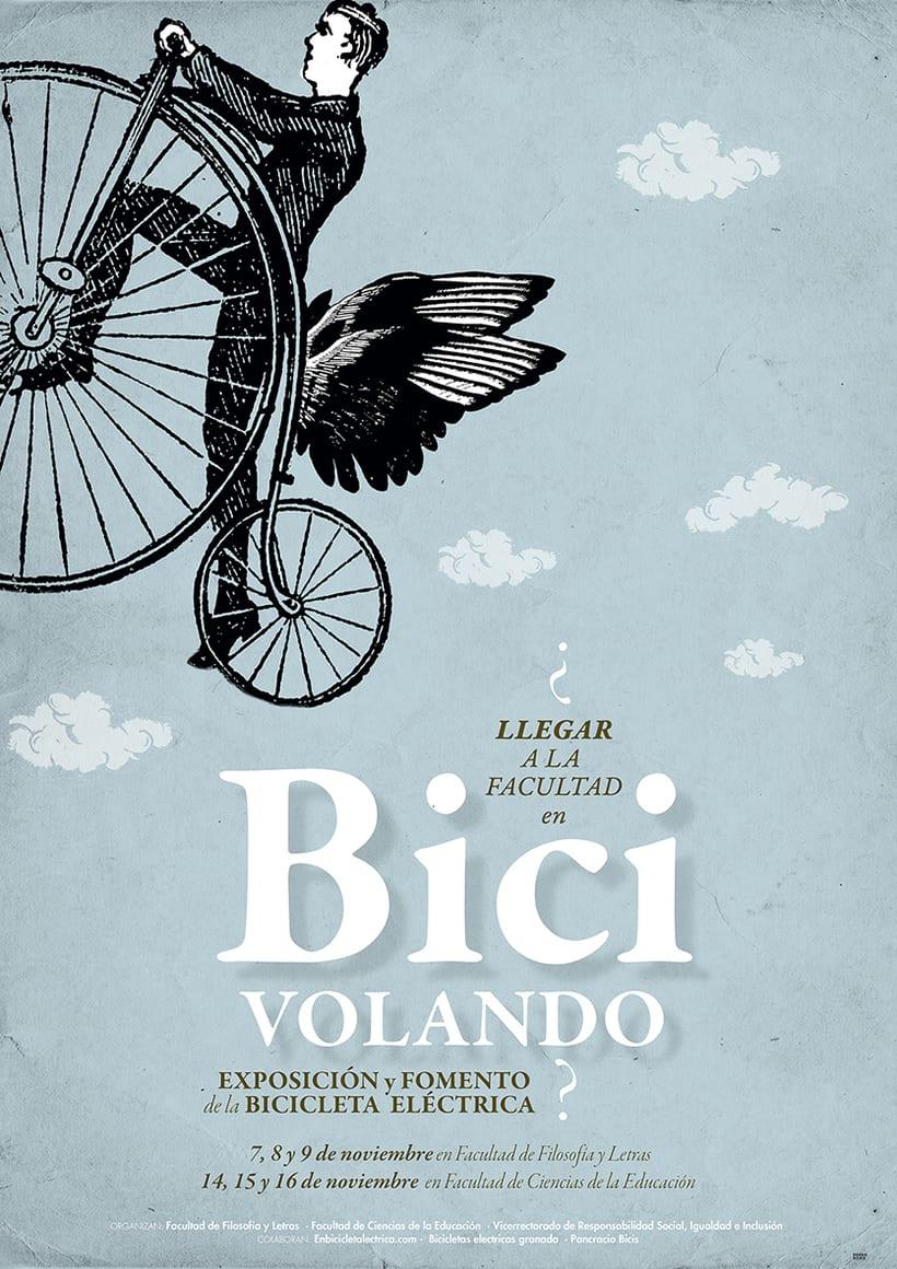 Exposición bicicleta. Universidad Granada -1