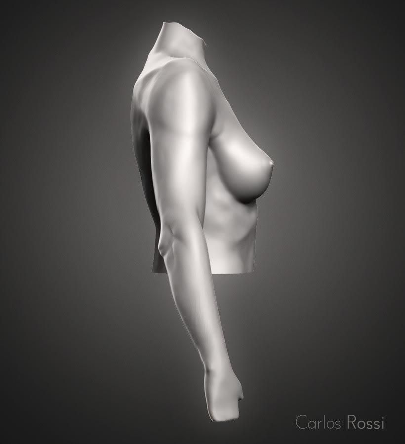 Practice arm woman 0