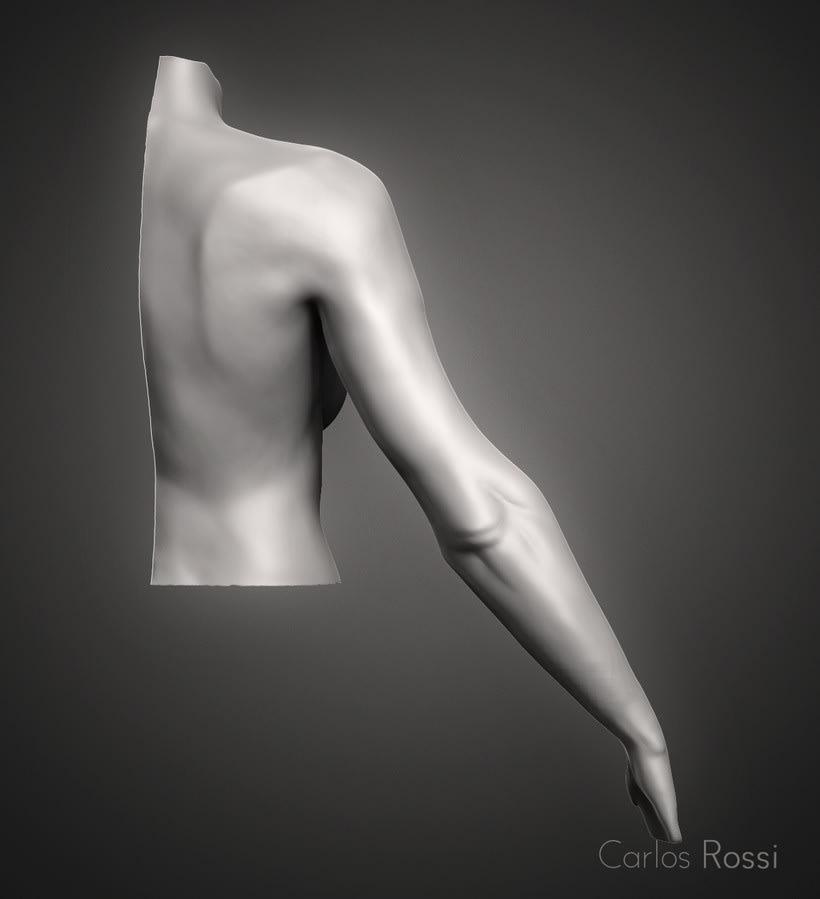 Practice arm woman 1
