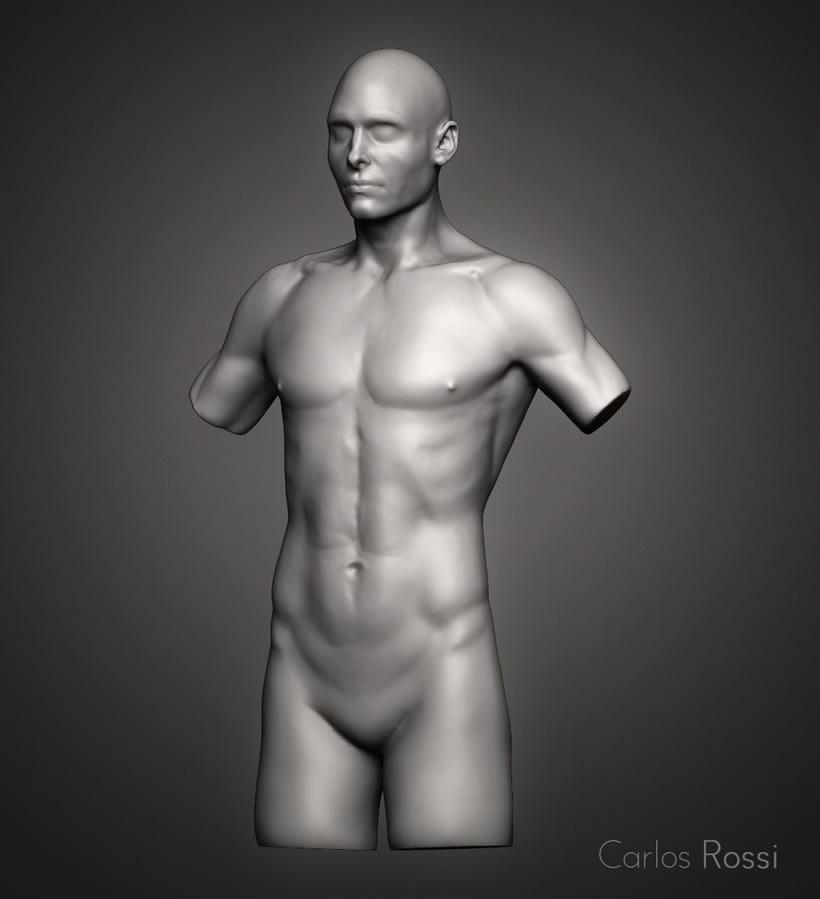 Practice torso man 0